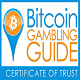 Bitcoing Gambling Guide Seal